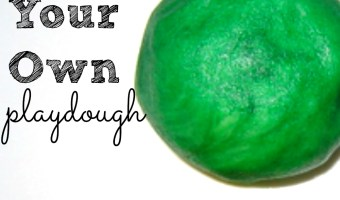 Make Your Own Playdough Recipe | Building Brain Power (& Biceps)