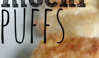 Sweet Mochi Puffs Recipe