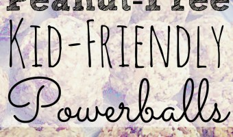 Quick & Easy Breakfast: Peanut-Free PowerBalls!