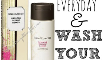 Take 3 Minutes & Wash Your Face