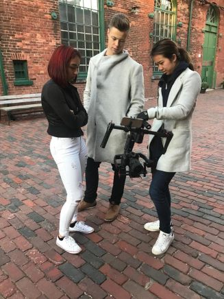 Luka & Jenalyn with videographer Brittany Nguyen