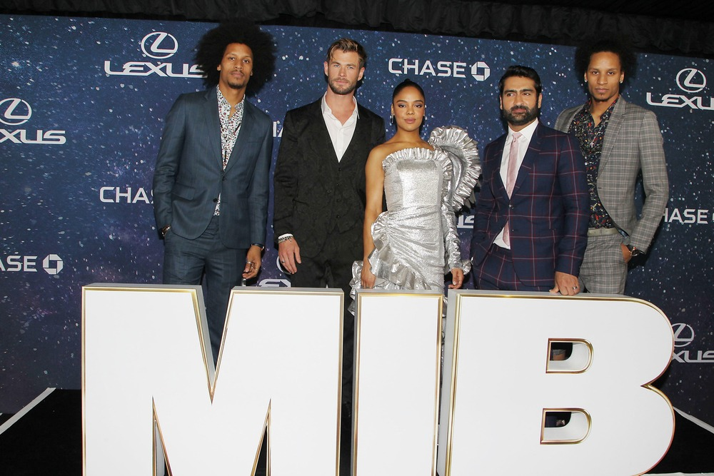 Larry Bourgeois, Chris Hemsworth, Tessa Thompson, Kumail Nanjiani, Laurent Bourgeois