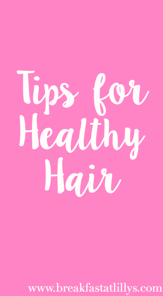 6 tips for healthier hair