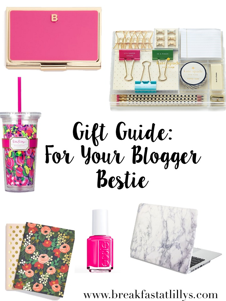 Gift Guide: For Your Blogger Bestie