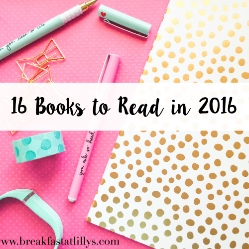 16 Books to Read in 2016