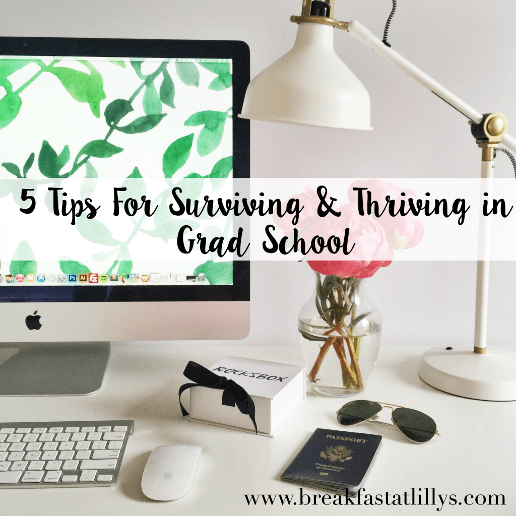 tips for surviving grad school