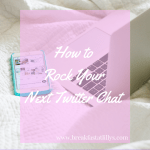 how to rock your next twitter chat