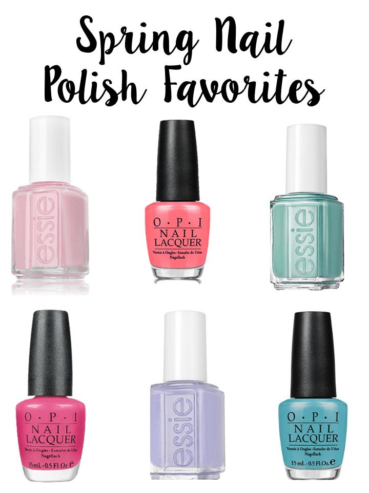 Spring Nail Polish Favorites