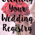 creating your wedding registry
