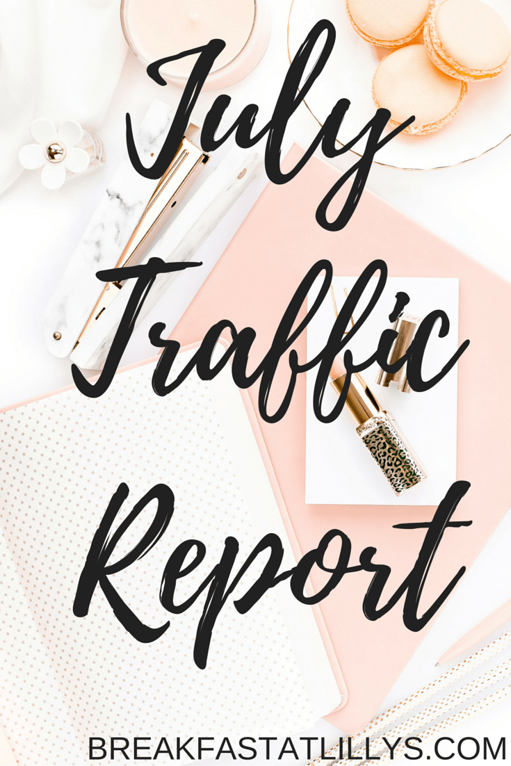 July Traffic Report