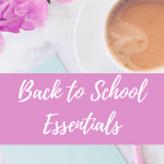 Back to School Essentials for Grad School