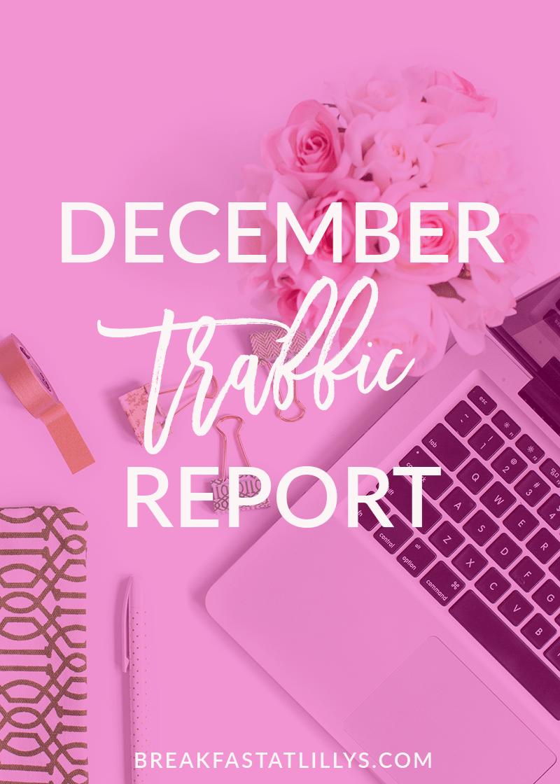 December 2016 Traffic Report
