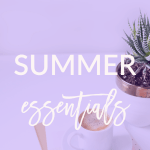 Check out my summer essentials today on Breakfast at Lilly's.