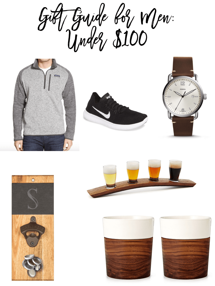 Check out my gift guide for men under $100 and get your shopping started early!