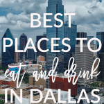 Today on Breakfast at Lilly's I'm sharing some of the best places to eat and drink in Dallas.