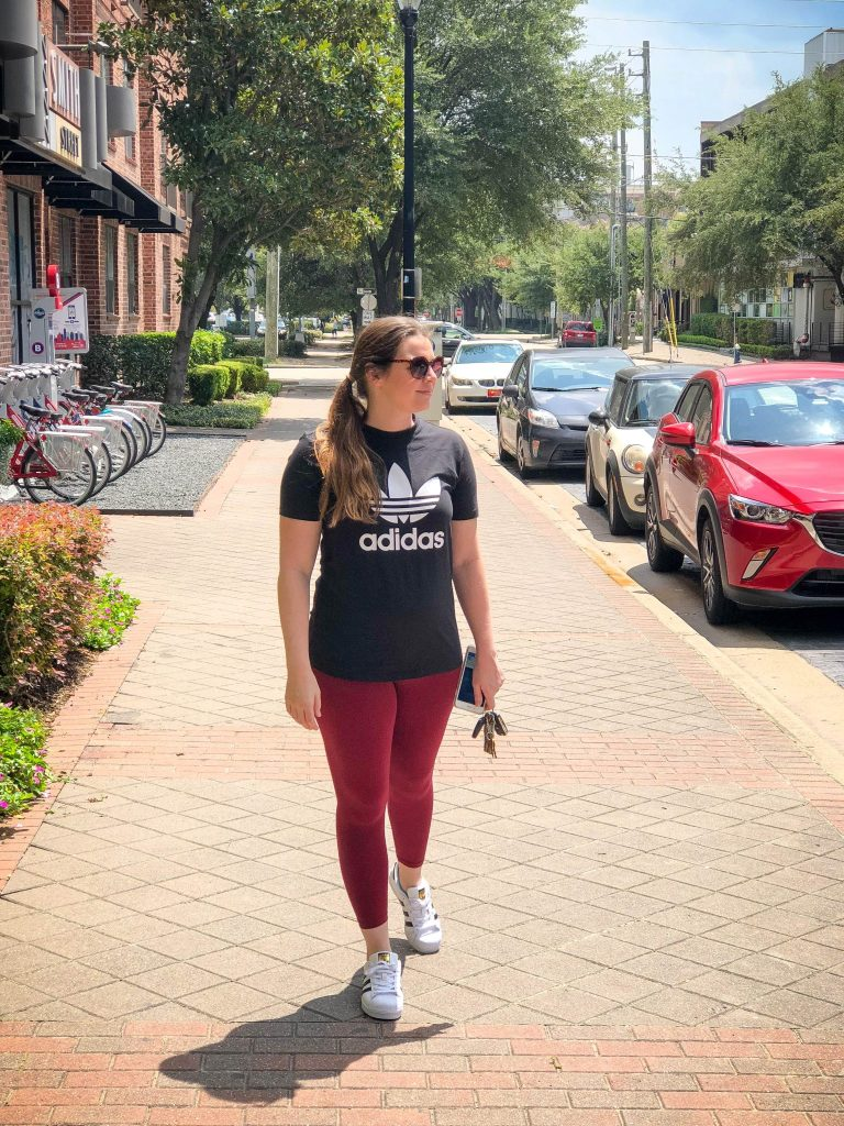 Adidas | Back to School Fitness Hacks featured by popular Houston life and style blogger Breakfast at Lilly's