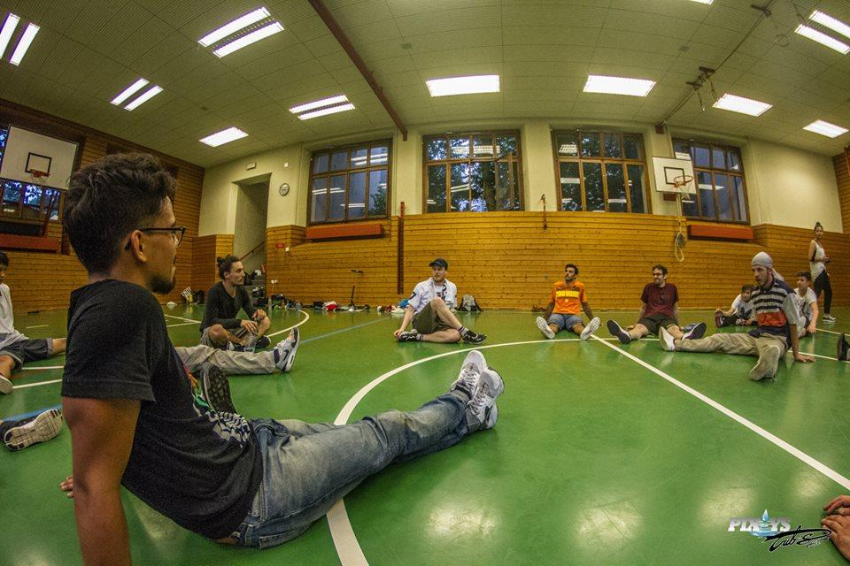 Workshop Bboy Menno