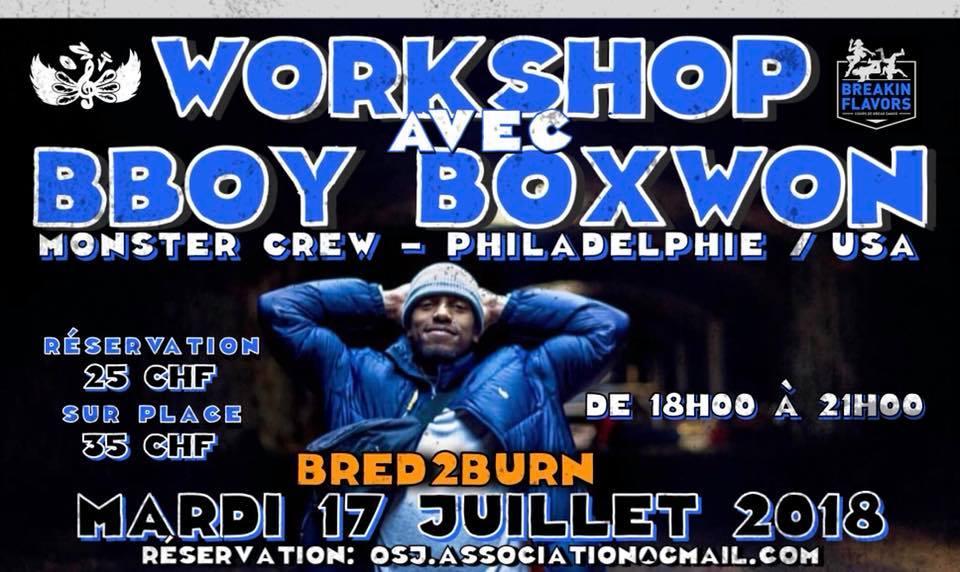 Workshop Bboy BoxWon