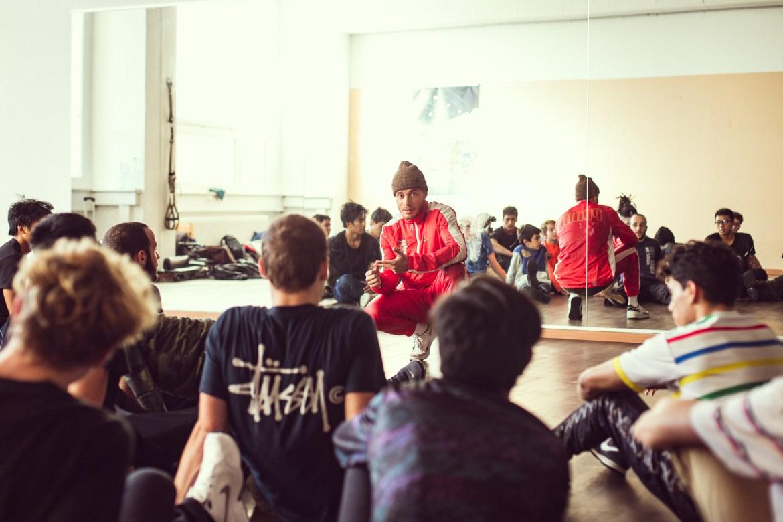 Workshop Bboy Xisco