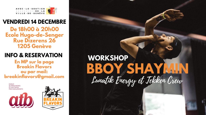 Workshop Bboy Shaymin