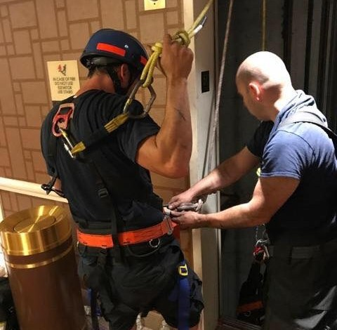 Atlantic City firefighters rescue 14 stuck in elevator — one by one