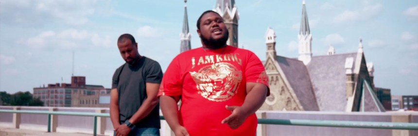 "Escape Artist & King Bravo ""They Don't Know"" video still"
