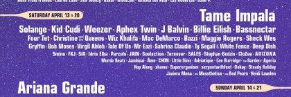 2019 Coachella Lineup Poster