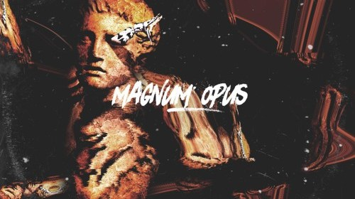 "Cover artwork for Mvgic - ""Magnum Opus"""