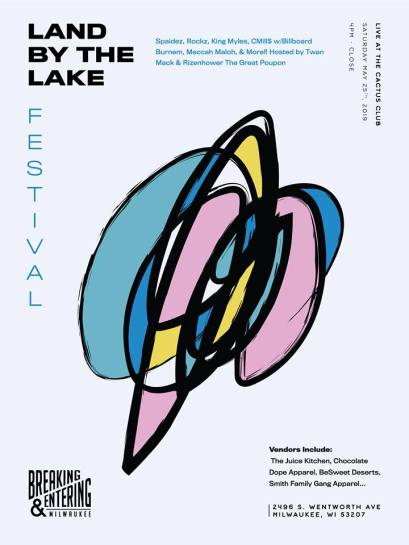 Land By The Lake Festival Poster