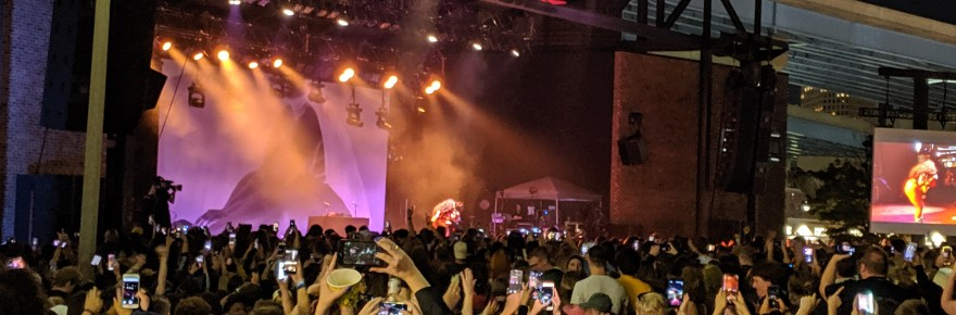Lizzo performs at Summerfest 2019 in Milwaukee