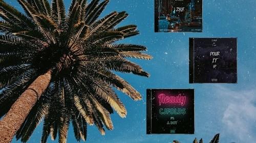 """Cover artwork for CJ Folds - """"The Summer Pack"""""""
