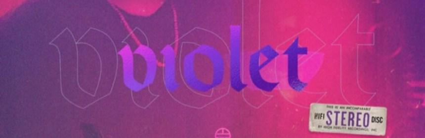 """Cover artwork for Troy Tyler - """"Violet"""""""