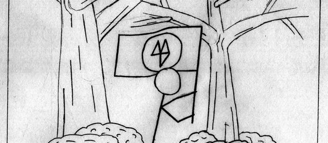 "Cover artwork for Before Nitrogen - ""Running In The Forest"""