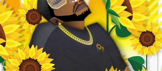 "Cover artwork for Hakeem Paragon - ""A Sunflower In The Shade"""