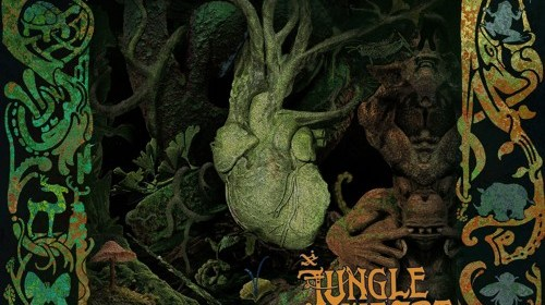 "Cover artwork for Mwgli - ""Jungleheart"""
