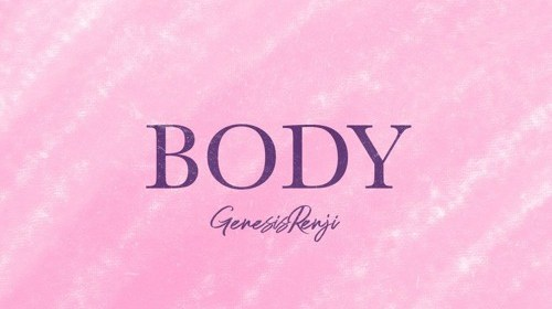 """Cover artwork for GENESIS RENJI - """"BODY"""""""