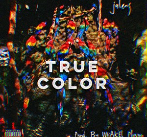 "Cover artwork for JalenG - ""True Color"""