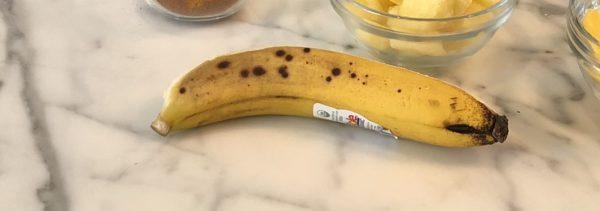 whole ripe Banana