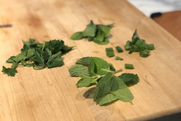 Fresh Herbs for Avocado Toast
