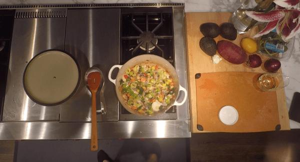 Vegetables Warm French Lentils