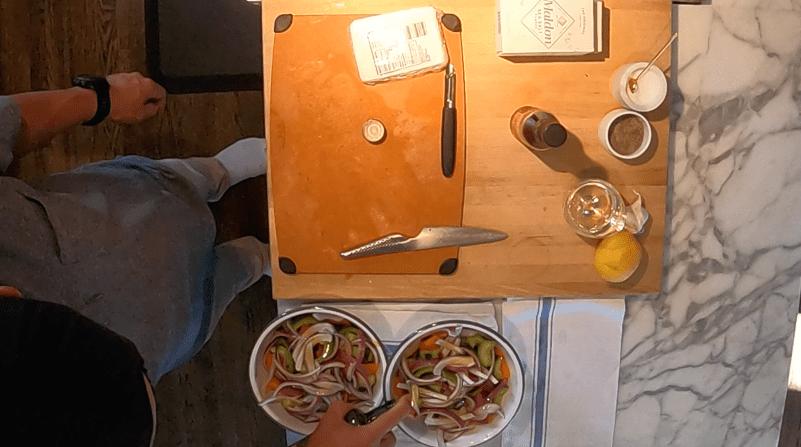 Classic Greek Salad, Oil and Vinegar
