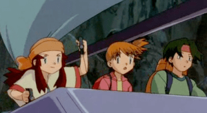 Pokemon The Movie 2000 Melody Piloting Sailboat