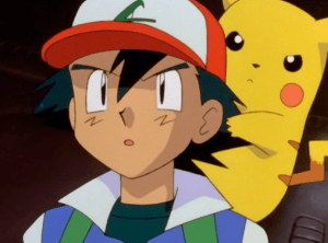 Pokemon The First Movie Ash and Pikachu