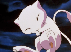 Pokemon The First Movie Mew Giggling