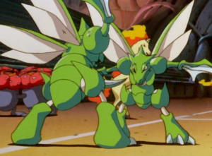 Pokemon The First Movie Scyther