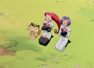 Pokemon The First Movie Team Rocket Ending
