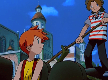 Pokemon Heroes Misty and Ross