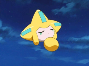 Pokemon Jirachi Wish Maker Sleeping Jirachi