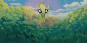 Pokemon 4Ever evil Celebi