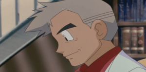 Pokemon 4Ever Professor Oak